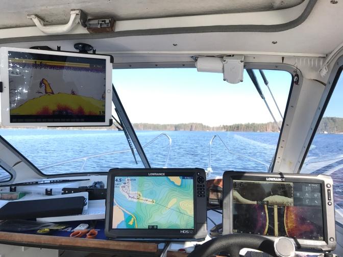 iPad Pro veneilykäytössä